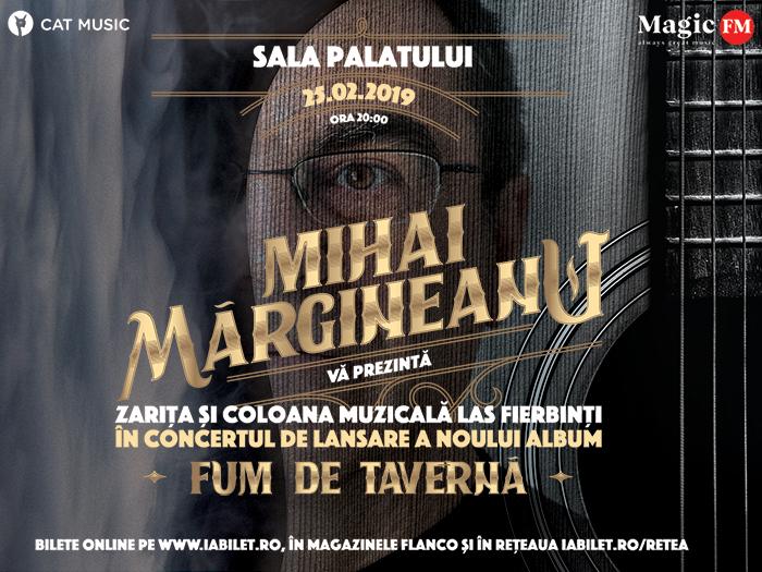 Mihai Margineanu Zarita si Coloana Muzicala Las Fierbinti in Concertul de Lansare a Noului Album